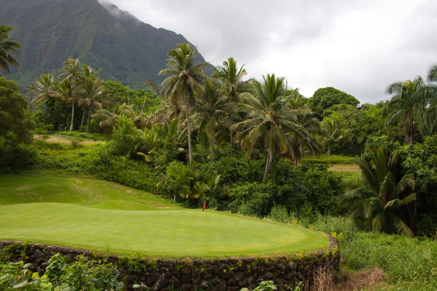 Beautiful Oahu Golf Course